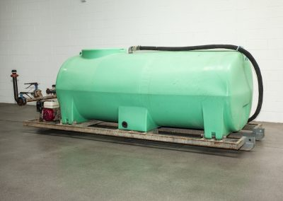 TWS DRY HIRE Skid Mount Watercart 3500L Front Angle