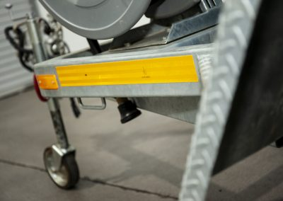 TWS DRY HIRE Watercart Trailer Safety Specification Tape