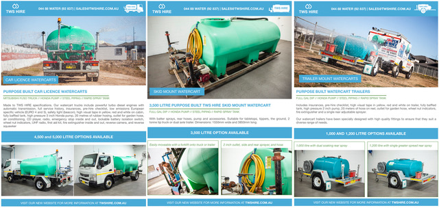 WATERCART BROCHURE AT YOUR FINGERTIPS